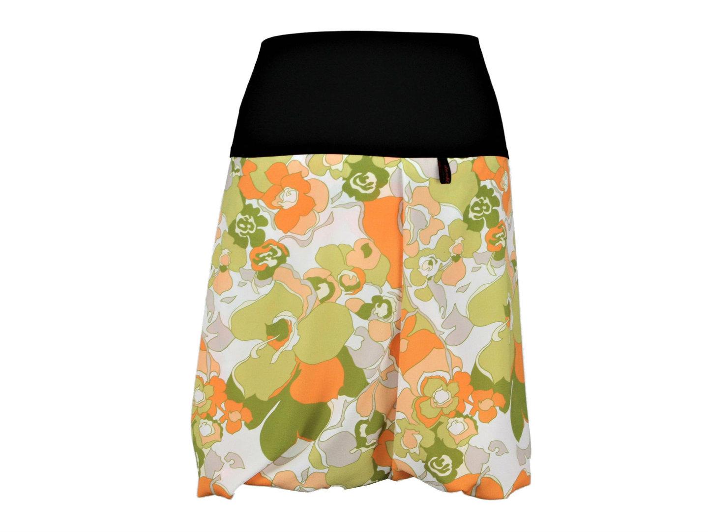 dunkle design ballonrock gr n orange. Black Bedroom Furniture Sets. Home Design Ideas