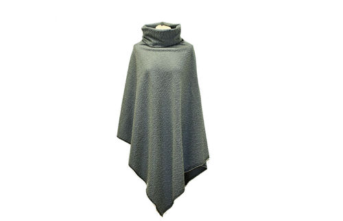 cape collar gray white