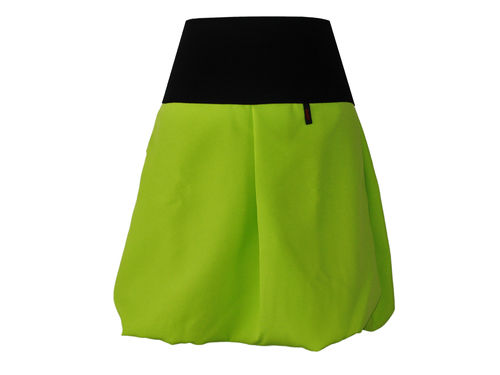 bubble skirt green