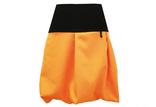 bubble skirt orange