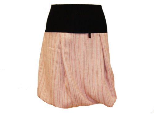 bubble skirt rose stripes