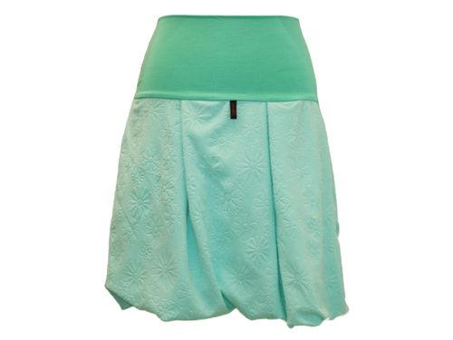 bubble skirt mint flowers