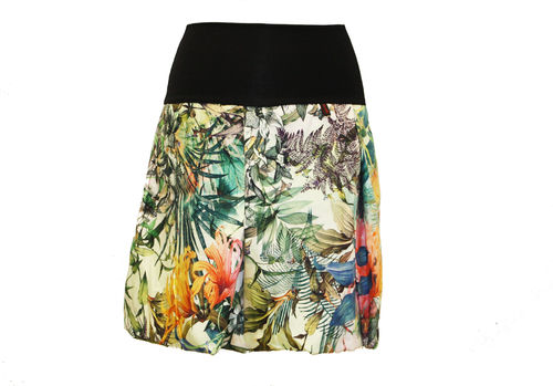 bubble skirt colourful floral