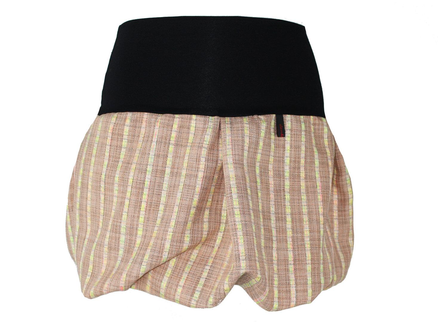 bubble skirt mini salmon blend