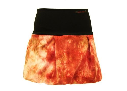 bubble skirt mini corduroy