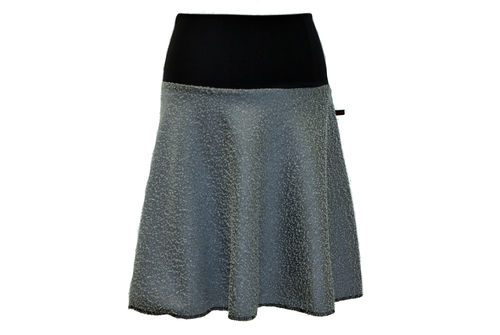skirt midi salt pepper
