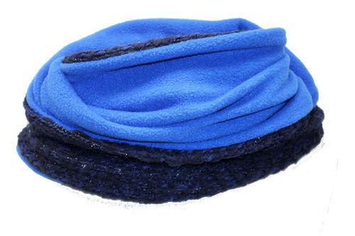 Loop Wolle Blau