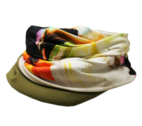 infinity scarf colourful