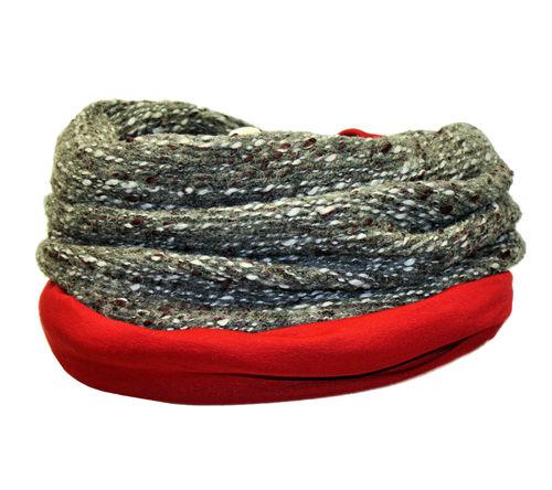 Loop Rot Grau