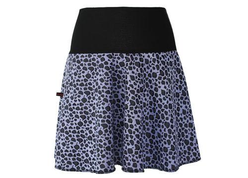 skirt mini jacquard