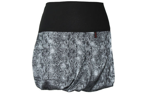 bubble skirt mini petrol gray