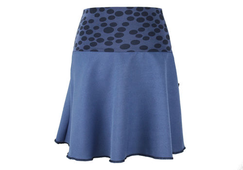 Rock Mini Blau Punkte