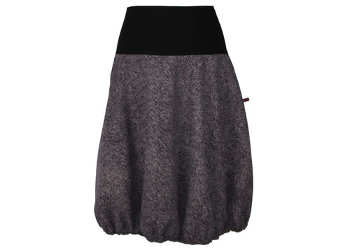 bubble skirt purple black