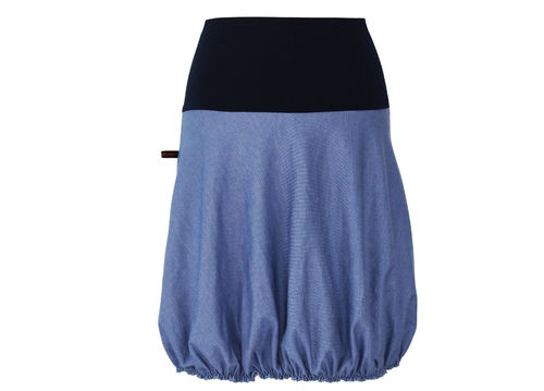 Ballonrock Blau Sweat