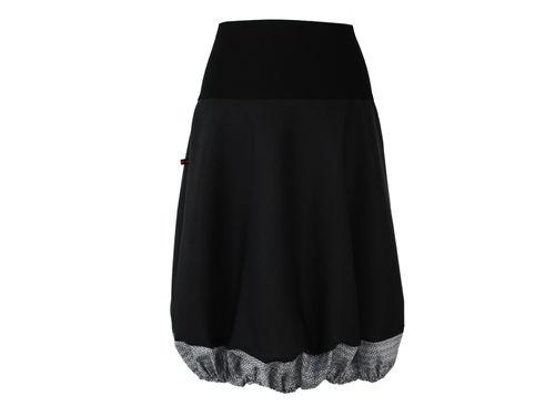 bubble skirt black