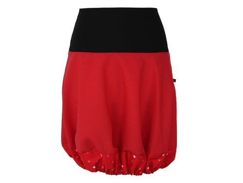 Ballonrock Rot Schwarz