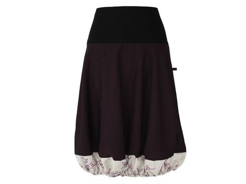 bubble skirt blackberry