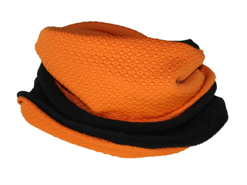 Loop Schal Orange Fleece