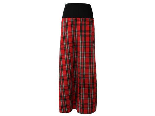 skirt maxi tartan