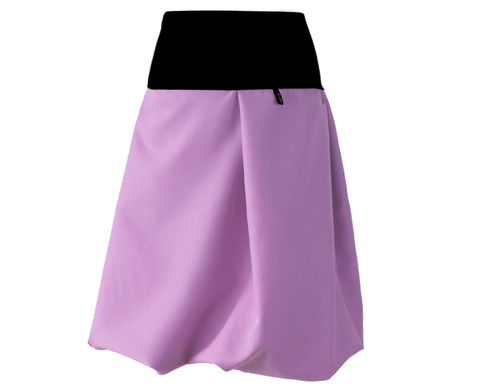bubble skirt midi purple purple