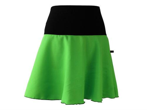 Minirock Hellgrün Grün