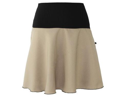 skirt mini taupe light brown