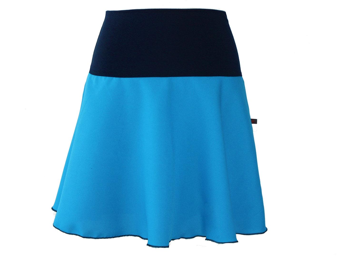 Minirock Blau