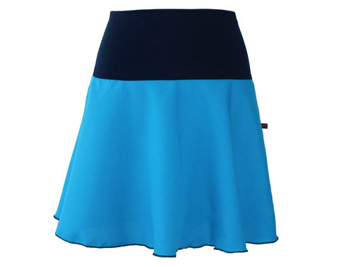 skirt mini blue