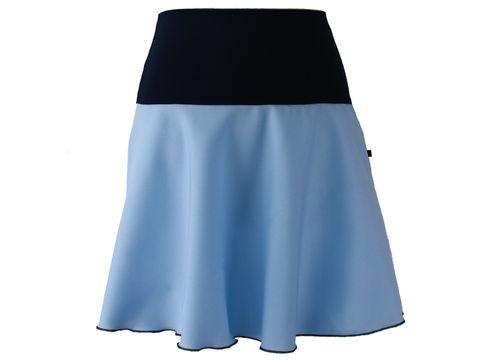 skirt mini light blue