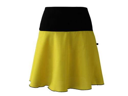 skirt mini yellow