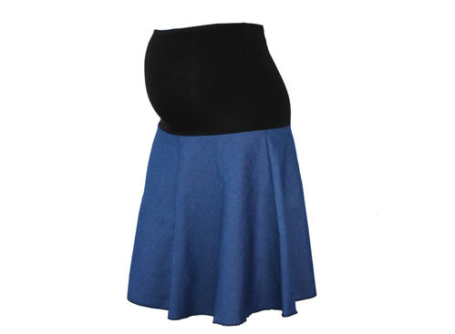 maternity skirt jeans