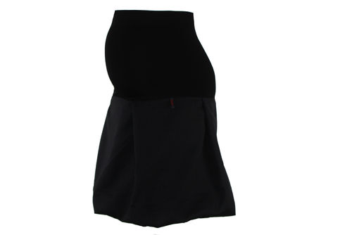 maternity skirt bubble black