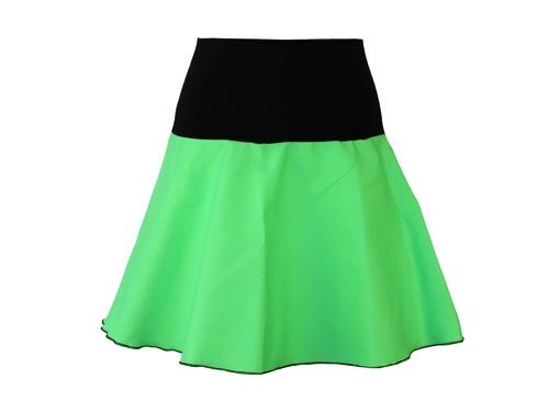 skirt jeans mini green