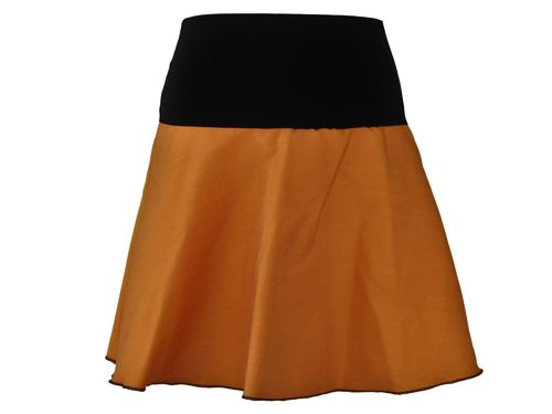 skirt mini jeans curry