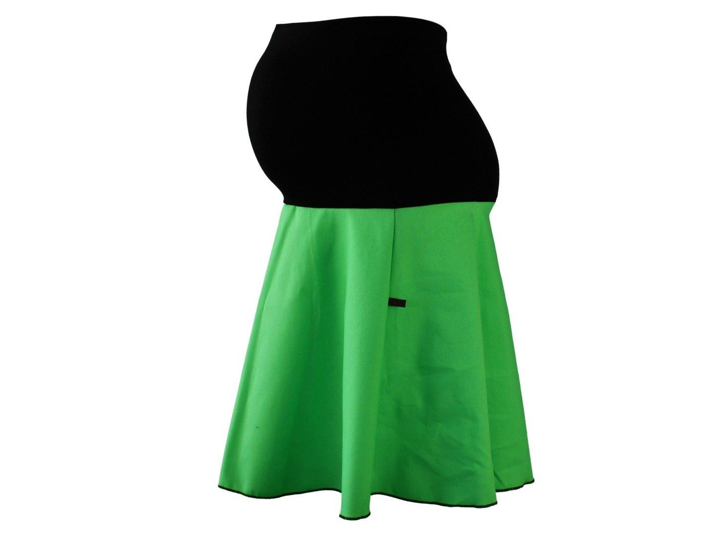 maternity skirt jeans green