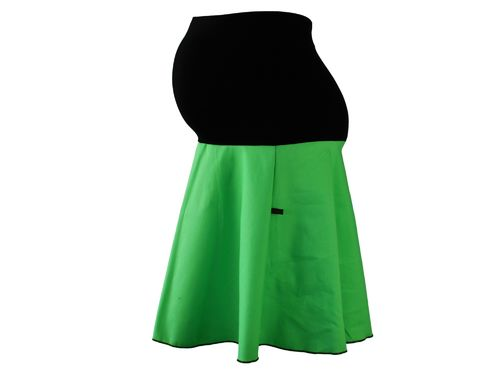 maternity skirt jeans green
