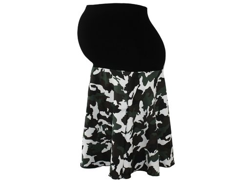 maternity skirt sweat camouflage