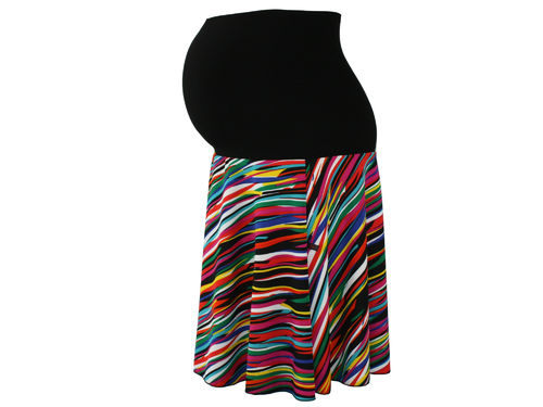 maternity skirt sweat colorful