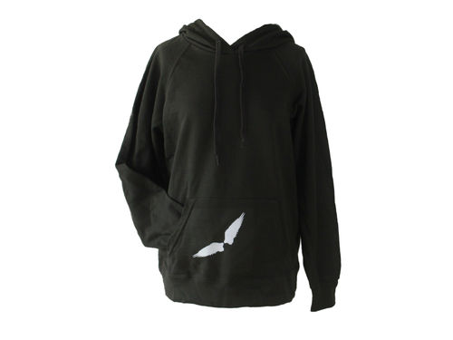 hoodie - sweater gray wings