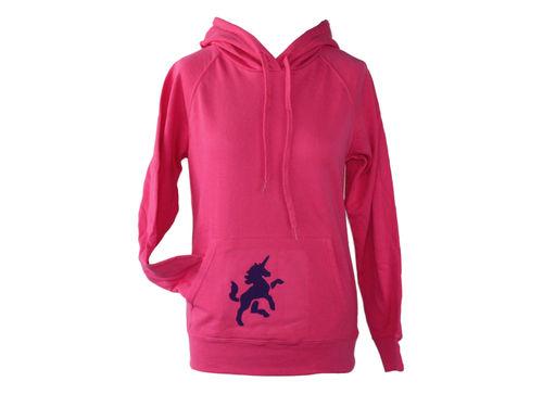 hoodie - sweater pink unicorn