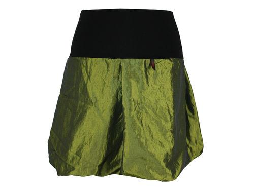 Ballonrock Mini Taft Grün