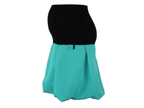 maternity skirt bubble turquoise