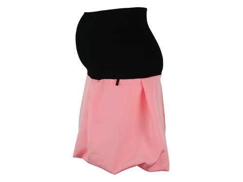 maternity skirt bubble colour salmon