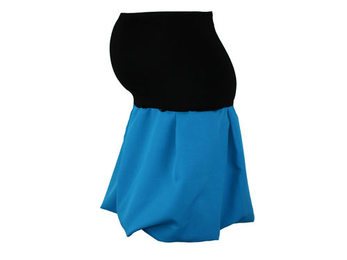 maternity skirt bubble azure