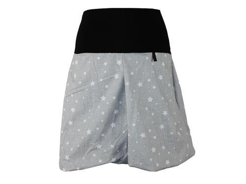 Ballonrock Sterne Grau