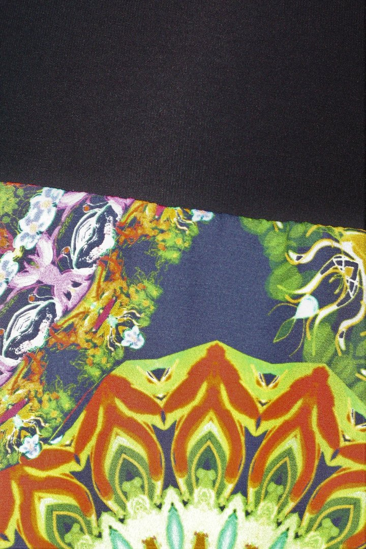 outlet store bc6f3 09aca dunkle design AVANT GARDE Ballonrock Maxi Bunter Extravaganter